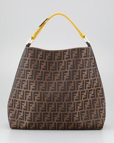 2d38a28482 Fendi Zucca Large Hobo Bag
