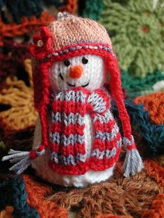 cute snowman for my auntie to make. :0)