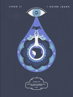 Lykke Li Gig Poster on Behance