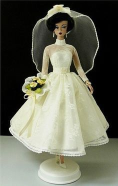 Donnas-Doll-Designs Designer-quality outfits for your Fashion Dolls. Barbie Bridal, Barbie Wedding Dress, Wedding Doll, Barbie Dress, Barbie Clothes, Wedding Dresses, Doll Dresses, Poppy Parker, Bride Dolls