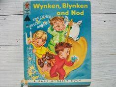 Vintage 1950's Children's Book- Wynken, Blynken...