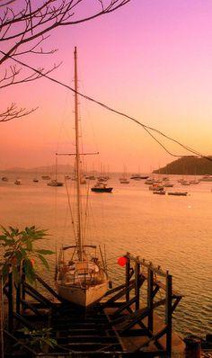 Sunset over Panama City