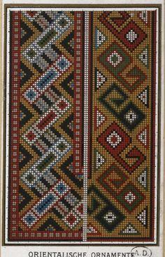 Gallery.ru / Фото #14 - старинные ковры и схемы для вышивки - SvetlanN