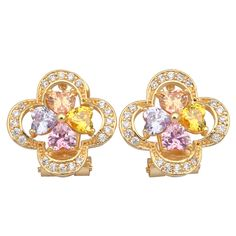 Find More Stud Earrings Information about New 2016 Distinctive Brand designer colorful zircon 18k gold plated earrings  fashion Cute jewelry Pendientes E210,High Quality jewelry closet,China jewelry earring display Suppliers, Cheap earrings antique from Dana Jewelry Co., Ltd. on Aliexpress.com