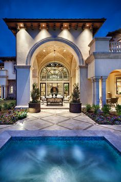 Dallas/Ft Worth - mediterranean - exterior - dallas - JAUREGUI Architecture Interiors Construction