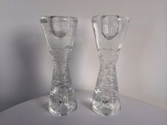 Iittala Arkipelago Hour Glass Candle Holder Pair By Timo Sarp by Moderndesign20 on Etsy