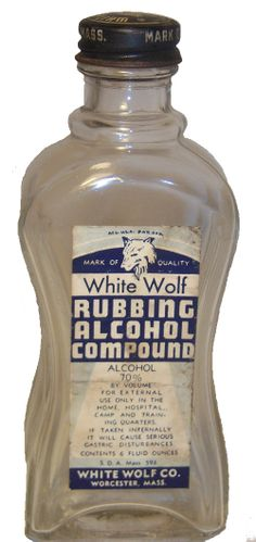 35 Household Uses for Rubbing Alcohol --> WW II edition (that's not a mistake ... it's an old 3 page article from an era when folks really knew how to make use of things)