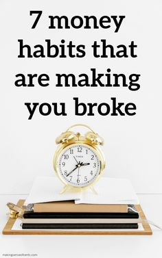 7 money habits that are making you broke Money Tips, Money Saving Tips, Money Change, Make More Money, How To Make, Managing Your Money, Budgeting Money, Starting Your Own Business, Money Matters