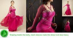 Good example for a ballroom dress for elderly