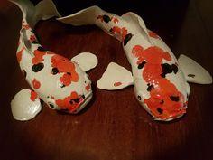 Ceramic koi carp Koi Carp, Pottery, Ideas, Clay, Ceramica, Pottery Marks, Ceramic Pottery, Pots, Ceramic Art