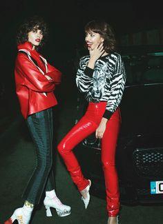 Irina Shayk, Steffy Argelich by Mert Alas and Marcus Piggott for Vogue Paris March 2016 8