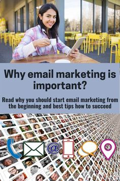 What you have to know when you have your own business, website or blog. Read about crucial email statistics that will get you closer to understanding why email marketing is a must these days. As a bonus, you get all the important tips on how to succeed.  #emailmarketing #blogging