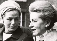 Ingrid Bergman and Deborah Kerr