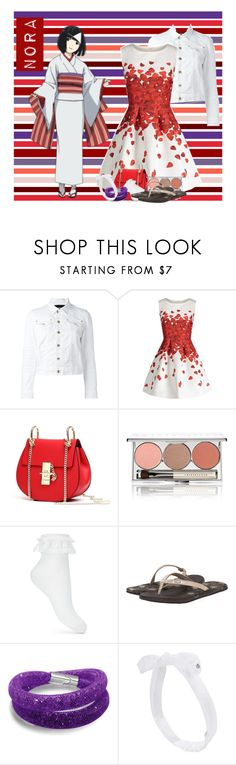 """""""Noragami : Nora"""" by laurablima-1 ❤ liked on Polyvore featuring beauty, Dsquared2, Chantecaille, Miss Selfridge, Freewaters and Maison Michel"""