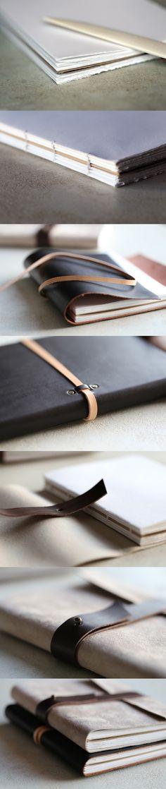 Handmade notebooks made by Epok Design. Le Carnet artisanal, fait main 49€ #EpokDesign #handmade #notebook