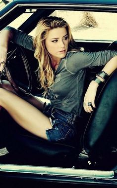 And Amber Heard. Whew. . . DAMN.