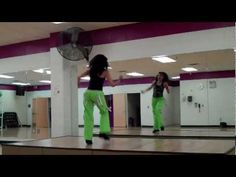 fun and simple zumba routine.