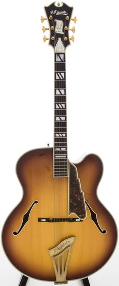 "1967 D'Aquisto New Yorker Sunburst Archtop Acoustic Guitar, Serial # 1016 - a beautiful example from famous archtop builder James D'Aquisto, signed and dated ""3/21/67"" on the interior."