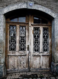 Old door in  Naumburg, Saxony by Oliver Schaef