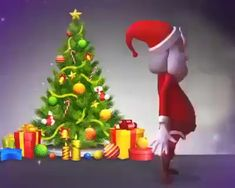Merry Christmas everyone – Animation ideas Animated Christmas Tree, Merry Christmas Pictures, Wish You Merry Christmas, Christmas Scenery, Christmas Music, Christmas Humor, All Things Christmas, Kids Christmas, Christmas Crafts