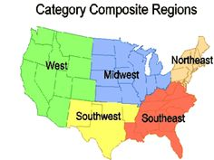 MAP: Regions of the United States | A+ Dr. Seuss - Read Across ...