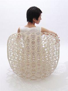 ryuji nakamura vulcanised paper chair