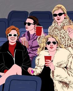 guess who ☆ for @everyoutfitonsatc ! selling prints on shop-bijou.com ☆