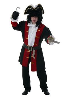 captain hook costume for adults - Google Search