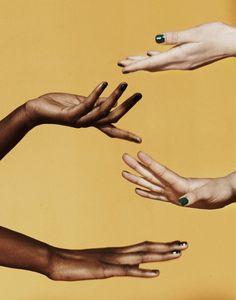 art direction | hands - Misha Taylor