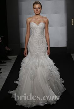 Found the dress, Now I need Hips... -Brides.com: Mark Zunino for Kleinfeld - 2013. Gown by Mark Zunino for Kleinfeld  See more wedding dresses in our gallery.