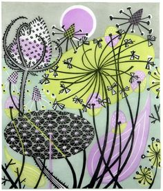 Angie Lewin is a lino print artist, wood engraver, screen printer and painter depicting the UK's natural flora in linocut and other limited edition prints. Patterns In Nature, Print Patterns, Nature Pattern, Pattern Print, Linocut Prints, Art Prints, Block Prints, Angie Lewin, Christmas Books