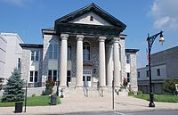 Covington, Allegheny Co., VA - Allegheny General District Court--WIKI-history