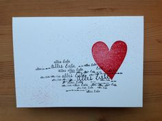 "Geburtstagskarte ""Alles Liebe"", Alexandra Renke, Herz Stampin'up"