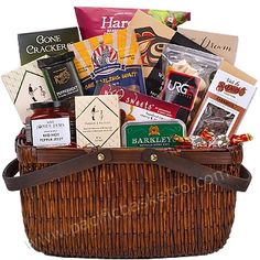 Best of BC : Vancouver artisan food gift baskets Vancouver, Gourmet Gift Baskets, Artisan Food, Food Gifts, Fresh Fruit, Crackers, Gourmet Recipes, Gift Wrapping, Sweets