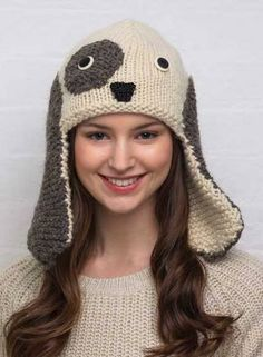 animal knit hats patterns