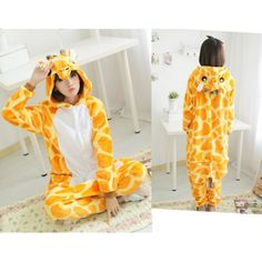 Giraffa Onesies Kigurumi Sleep Suit Huispak