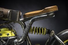 When Austria's Titan Motorcycles first set up a workshop, they stuffed their storage area with a collection of rusted-out motos they'd collected from the 70's and 80's. And in the years since they've been wandering through, vulture-like, picking interesting bits off for use in their custom builds...