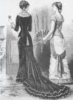 Victorian Era Fashion 1880-1890, Victorian Gallery - angelpig.net