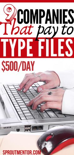 7 typing jobs which will allow you to work from home with kids. These ways to make money online accept even beginners without a college degree. They are also ideal stay at home jobs for moms, teens, students and anyone else looking for simple side jobs to make extra cash with. #onlinejobs #sidejobs #makemoneyonline #workfromhomejobs #stayathomejobs #money #finance #dataentryjobs