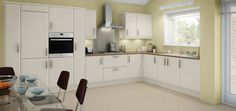white gloss kitchen units kitchen colors ideas schemes - Google Search