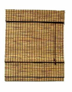 """Lewis Hyman 0108134 Burnt Bamboo Deluxe Roman Shade W/Valance 1/4"""" Bamboo Slat and One Alternating Matchstick 72"""" Drop. 23"""" W x 72"""" L by Lewis Hyman. $31.13. 6"""" built-in valance completes the elegance of this lush shade.. Each shade measures 1/2 inch less in width to allow for inside mount installation. Made of hand selected bamboo.  Each shade measures 1/2"""" less in width to allow for inside mount installation.. Easily installed in minutes with all necessary hardware..."""