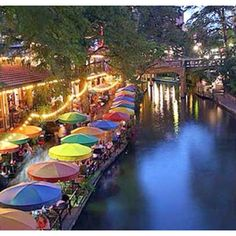 Then off to San Antonio's Riverwalk for a fabulous Tex Mex meal! #summerinthecity