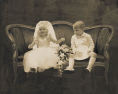 When child's play becomes reality | Child Bride And Groom Photo by Burntfaery | Photobucket