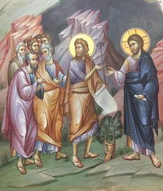 Byzantine Icons, Orthodox Icons, Vignettes, Jesus Christ, Scene, Princess Zelda, Projects, Fictional Characters, Medieval Art