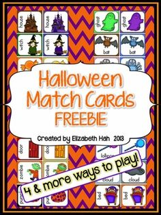 For memory, matching, putting in alphabetical order and writing. Contains 24 cards.