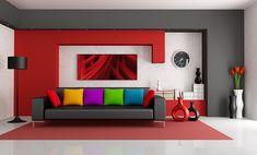 Im Alltagsstress bleibt oft kaum Zeit für Entspannung, doch es gibt verschiedene Möglichkeiten wie Malen nach Zahlen, um sie zu fördern. Erholung ist inmitten des hektischen Lebens wichtig, denn der Körper und Geist benötigen einen Ausgleich für Stress, der bei vielen sowohl beruflich als auch privat oft hoch ist.Malen nach Zahlen ist eine gute Möglichkeit, um mit einfachen Mitteln ausgiebige Entspannung zu finden. #malennachzahlen Good Living Room Colors, Living Room Red, Living Room Decor, Bedroom Decor, Dining Room, Red Wall Decor, Zebra Decor, Living Room Wall Designs, Wall Painting Living Room