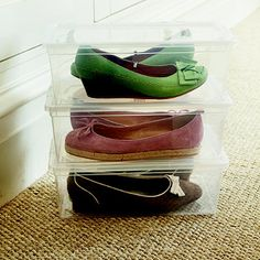 Ladies' Shoe Boxes 7.99 for 3