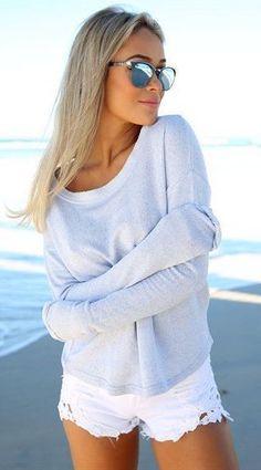 #summer #style / white