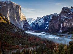 Winter Morning in Yosemite Valley [OC] [44363327] #reddit