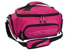 Lady Fish Girls Women Pink Fishing Tackle Bag w 2 Boxes Fresh Salt ...